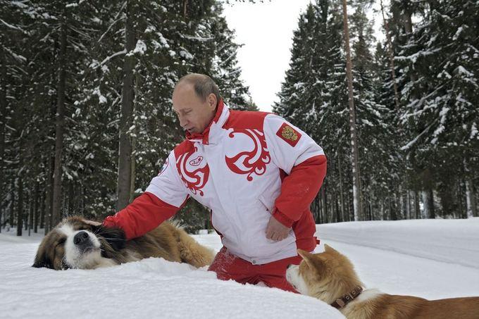 Vladimiras Putinas naujoje fotosesijoje
