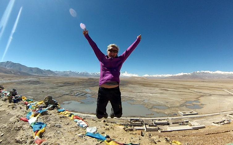 Editos šuolis ant Tibeto plokščiakalnio