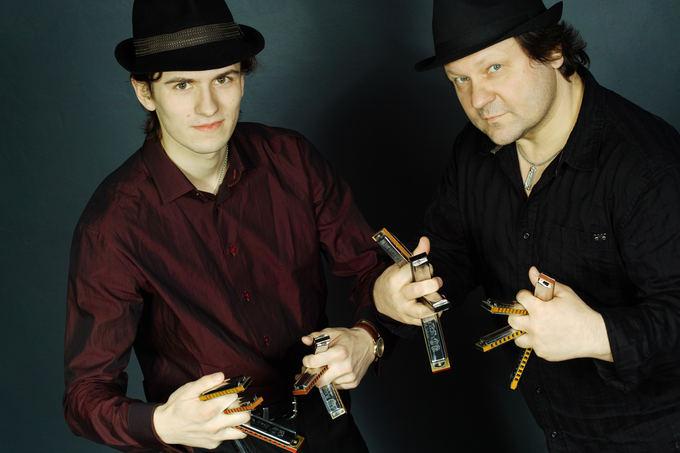 Festivalio Bliuzo naktys organizatorių nuotr./Double Harp Attack