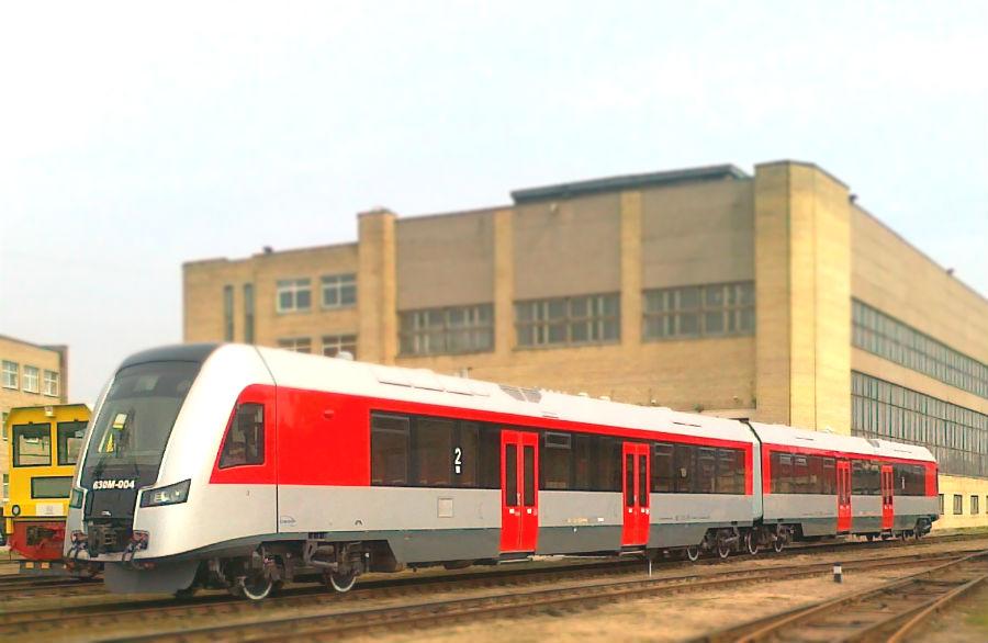 Naujasis traukinys 630M
