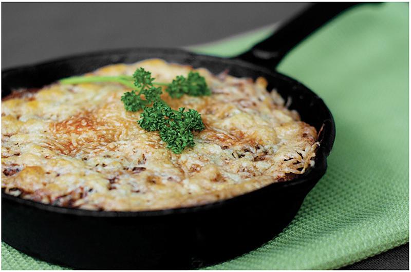 "Itališkas omletas ""Frittata"""