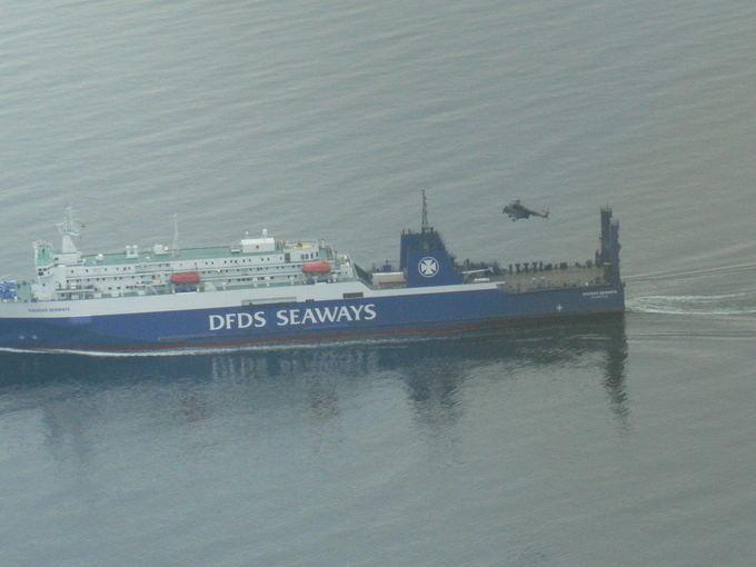 Karinių jūrų pajėgų nuotr./Gelbėjimo operacija