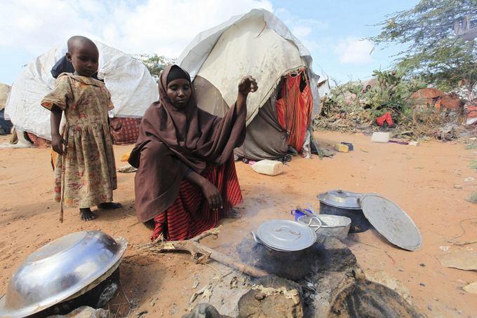 Somalyje ruoaiamas maistas