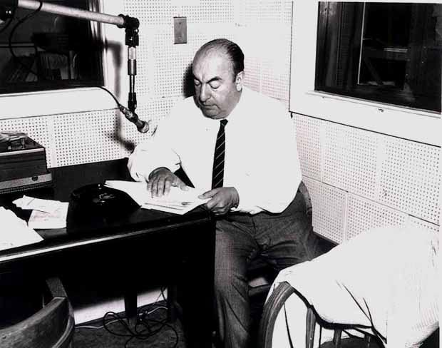 Wikimedia.org nuotr./Poetas Pablo Nerudas 1966 metais