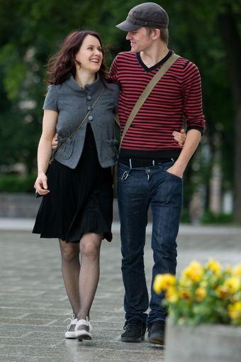 Gretos Skaraitienės nuotr./Dalia Morozovaitė su vyru Ričardu Matačiumi