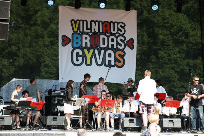 Projekto Vilniaus Brodas gyvas akimirka