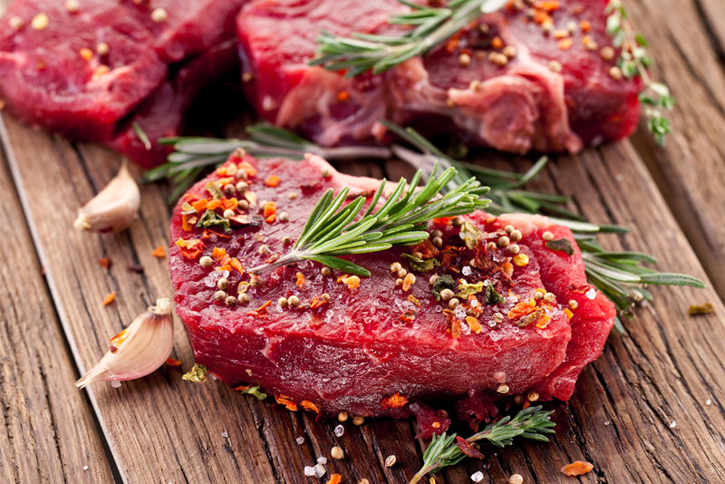 Kepsniams paruošta mėsa