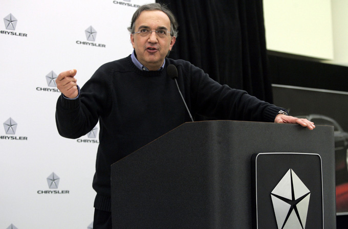 """Fiat-Chrysler"" vadovas Sergio Marchionne"