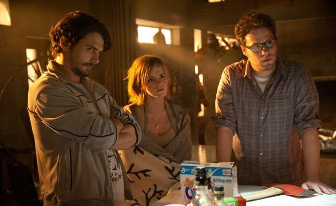 ACME Film archyvo nuotr./Jamesas Franco, Emma Watson ir Sethas Rogenas filme Dabar tai jau aikna