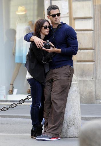 """""""All Over Press"""" nuotr./Jennifer Love Hewitt ir Brianas Hallisay Romoje gegužės pabaigoje"""