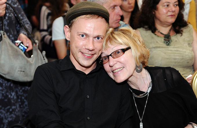 Gytis Ivanauskas su mama Aldona