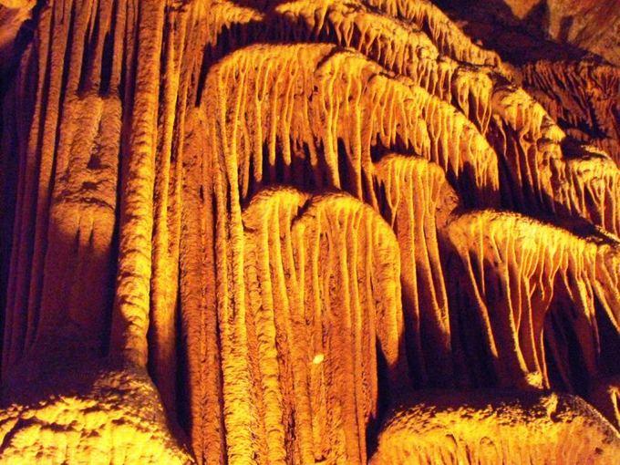 Wikimedia.org nuotr./Saevos skylės urve yra vienas didžiausių pasaulio stalaktitų