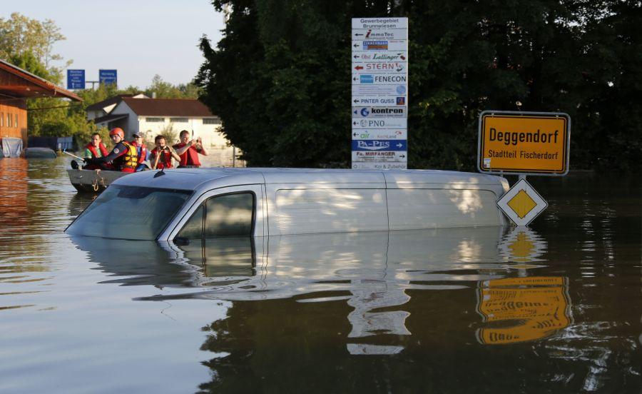 Potvynio nuniokotas Degendorfas