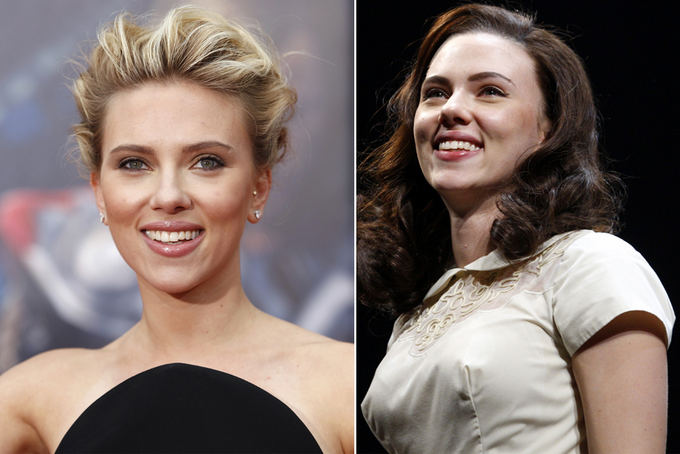Aktorė Scarlett Johansson