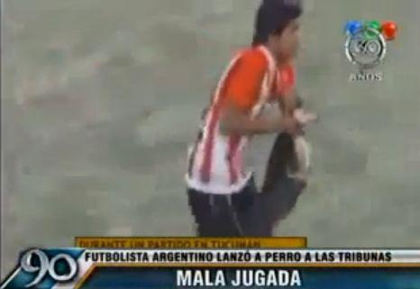 Futbolininko poelgis supykdė gyvūnų mylėtojus.