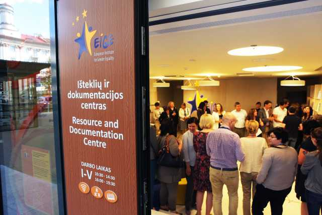 EIGE Išteklių ir dokumentacijos centro atidarymas