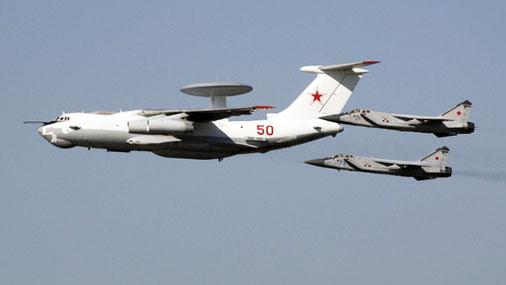 Самолет дальнего радиолокационного дозора, обнаружения и наведения А-50