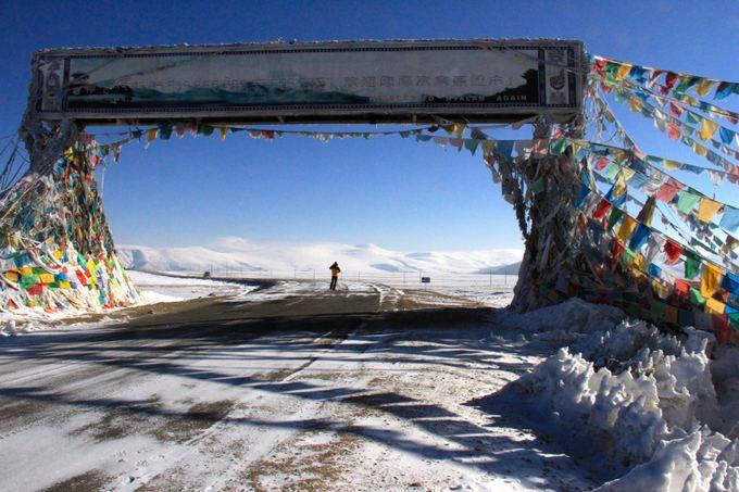 E.Nichols nuotr./6. Tong La Pass Tibetas 5120 metrų