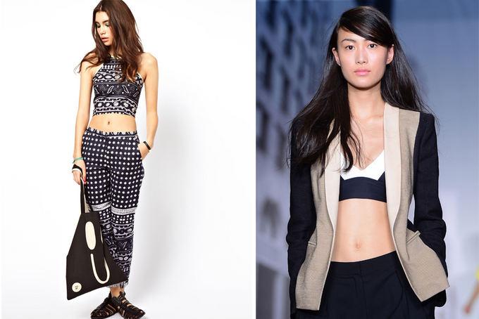 asos.com ir Scanpix nuotr. / ASOS tinklo ir Niujorko madų savaitėje pristatytos DKNY mini palaidinės.