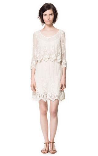 Zara suknelė, 219 Lt. Zara.com nuotr.