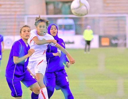 Jordano moterų futbolo rinktinė nepasigailėjo Kuveito
