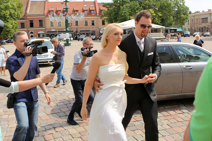 Rūta `čiogolevaitės ir Rolando Damijonaičio vestuvės