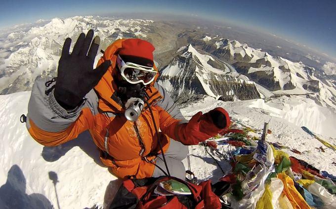 E.Nichols nuotr./19. Edita Everesto viraūnėje