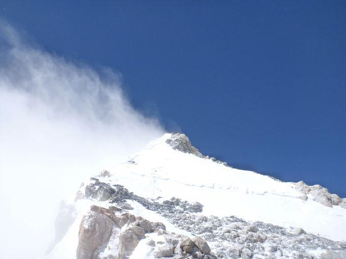 E.Nichols nuotr./19. Pakeliui į viraūnę - uolos ir sniegas