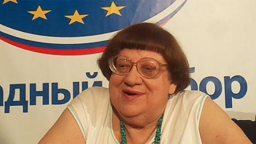 Новодворская: Кто может изменить жене, тот может изменить Родине
