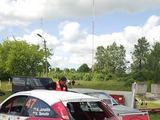 Wellmann rally team komandos nuotr./Aurimo Jonaičio automobilis po avarijos ne greičio ruože