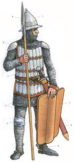 Elitinis XIV a. lietuvių karys