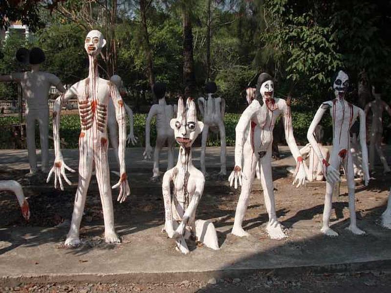 Pragaru žemėje vadinamas parkas Tailande