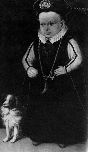 Jano Baptisto Utherio paveikslas/Būsimasis Lietuvos didysis kunigaikštis Žygimantas Vaza (1566-1632) su šuneliu.