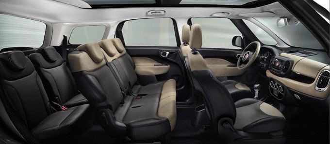 Fiat nuotr./Fiat 500XL