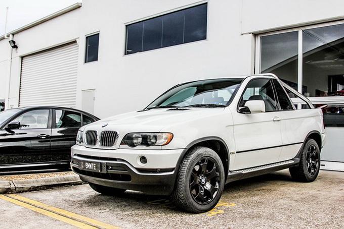 BMW X5 pikapas