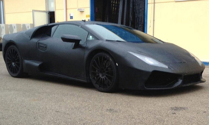 "Užmaskuotas ""Lamborghini"" prototipas"