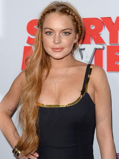 Aktorė  Lindsay Lohan