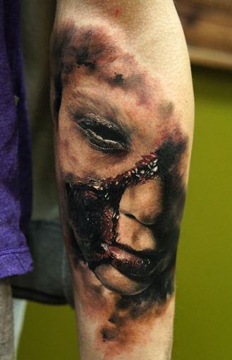 Asmeninio archyvo nuotr./Domanto Parvainio tatuiruotės