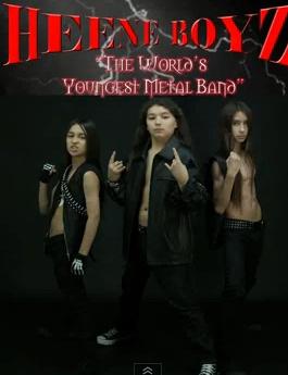 """Jauniausia pasaulio sunkiojo metalo grupė """"Heene Boyz"""""""