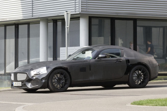 Mercedes-Benz nuotr./Mercedes-Benz SLC AMG