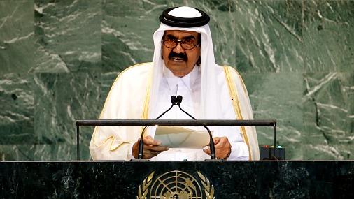 Эмир Катара шейх Хамад бин Халифа аль-Тани