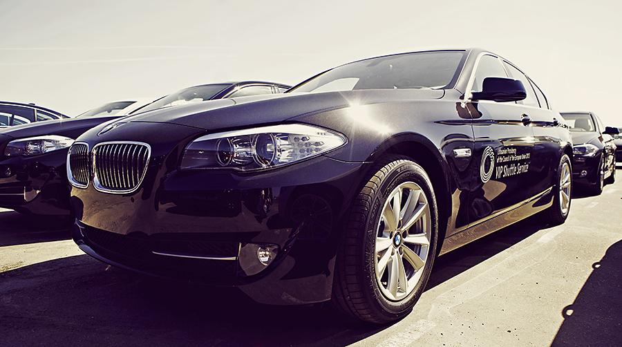 Pirmininkavimui ES skirti BMW automobiliai