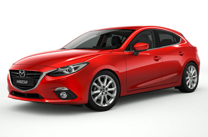 Mazda nuotr./Mazda 3