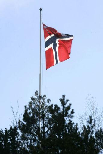 """Scanpix"" nuotr./Norvegijos vėliava"