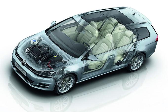 Volkswagen nuotr./Volkswagen Golf Variant