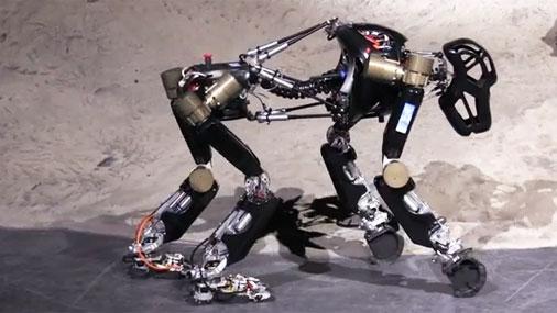 Немецкие инженеры показали робота-гориллу