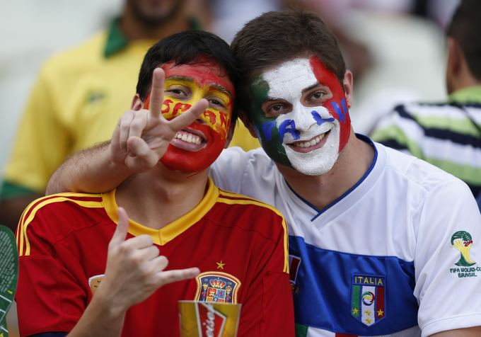 Futbolo rungtynių sirgaliai