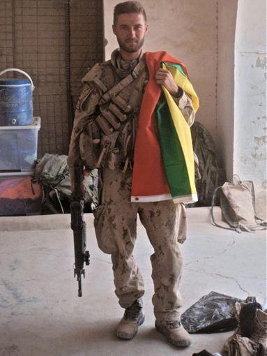 Asmeninio albumo nuotr./D.`ileika misijoje Afganistane