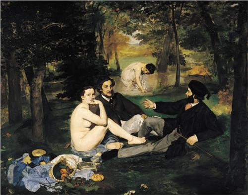 wikipaintings.org nuotr. / Edouardo Manet The Luncheon on the Grass