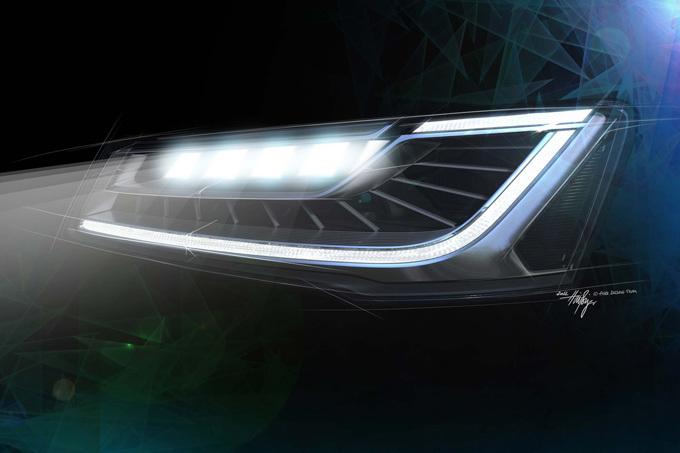 Audi nuotr./Audi Matrix LED žibintai
